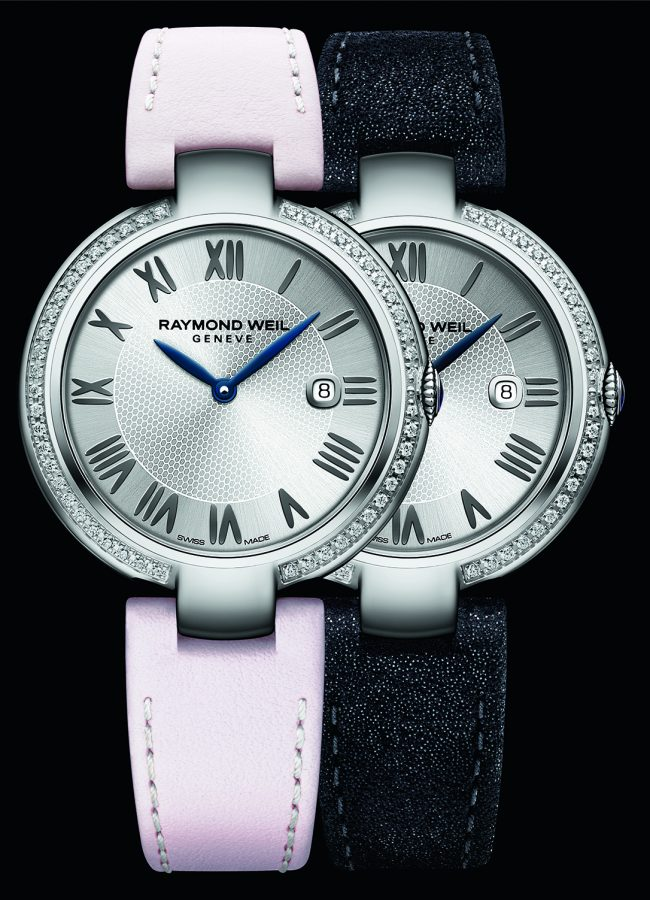 "Raymond Weil, Shine ""Etoile"" with diamonds"