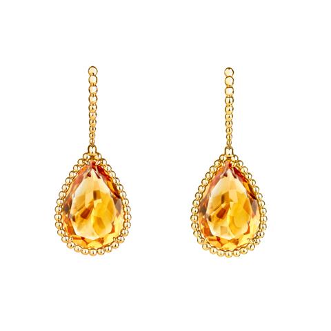 Citrine Serpent earrings