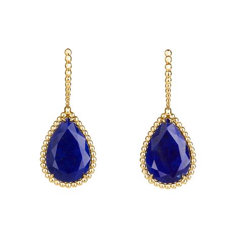 Lapis Serpent earrings
