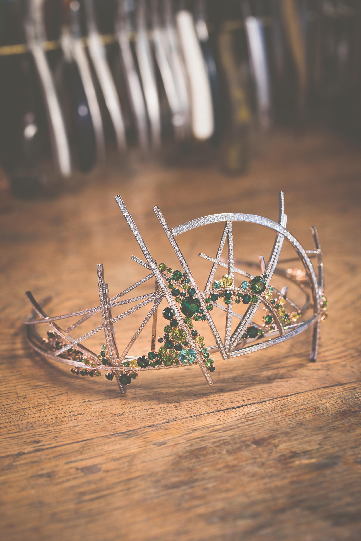 Winning diadem designed by Scott Armstrong