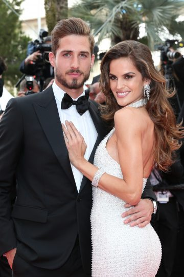 Izabel Goulard and Kevin Trapp wear Chopard