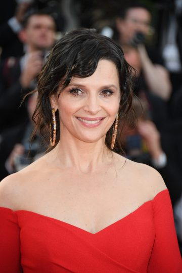 Juliette Binoche wears Chopard