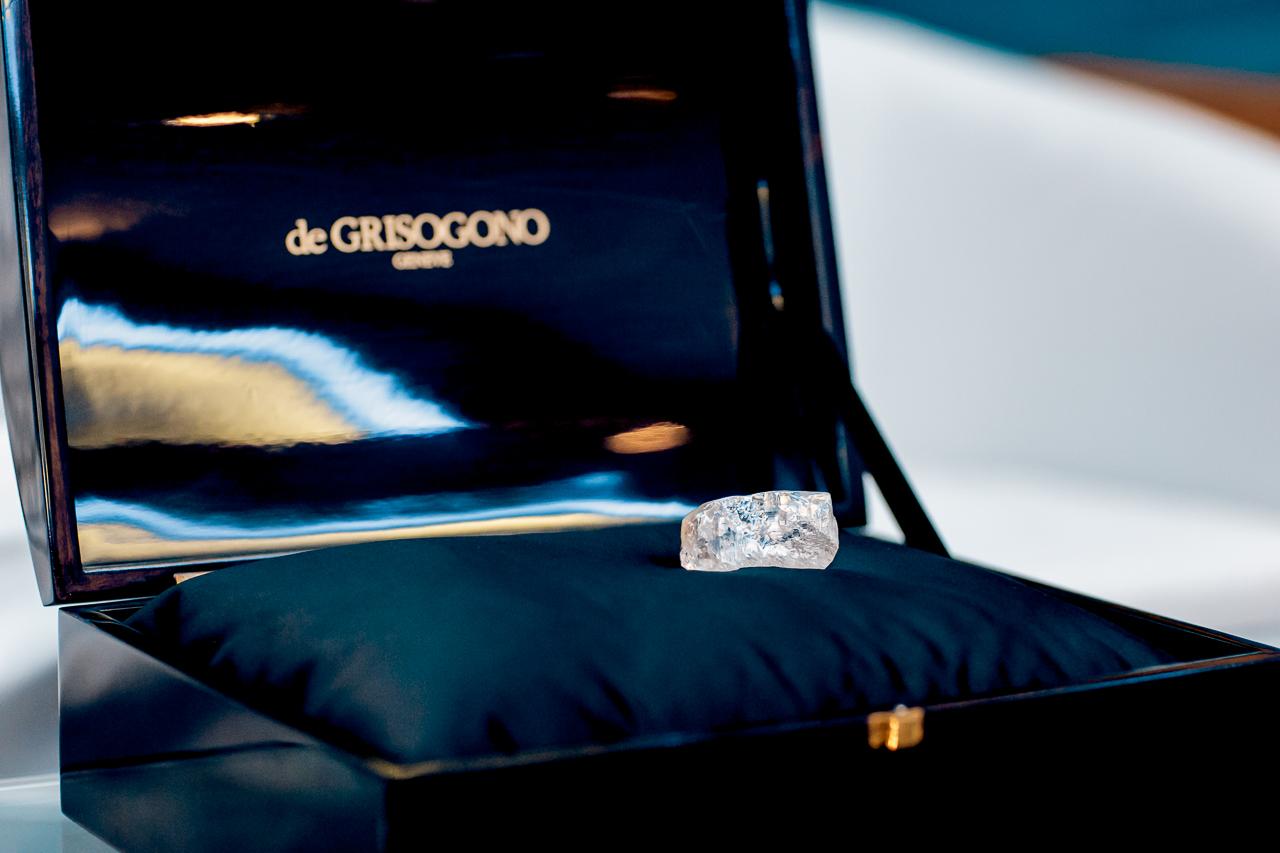 De Grisogono's 404ct 4 de Fevereiro diamond