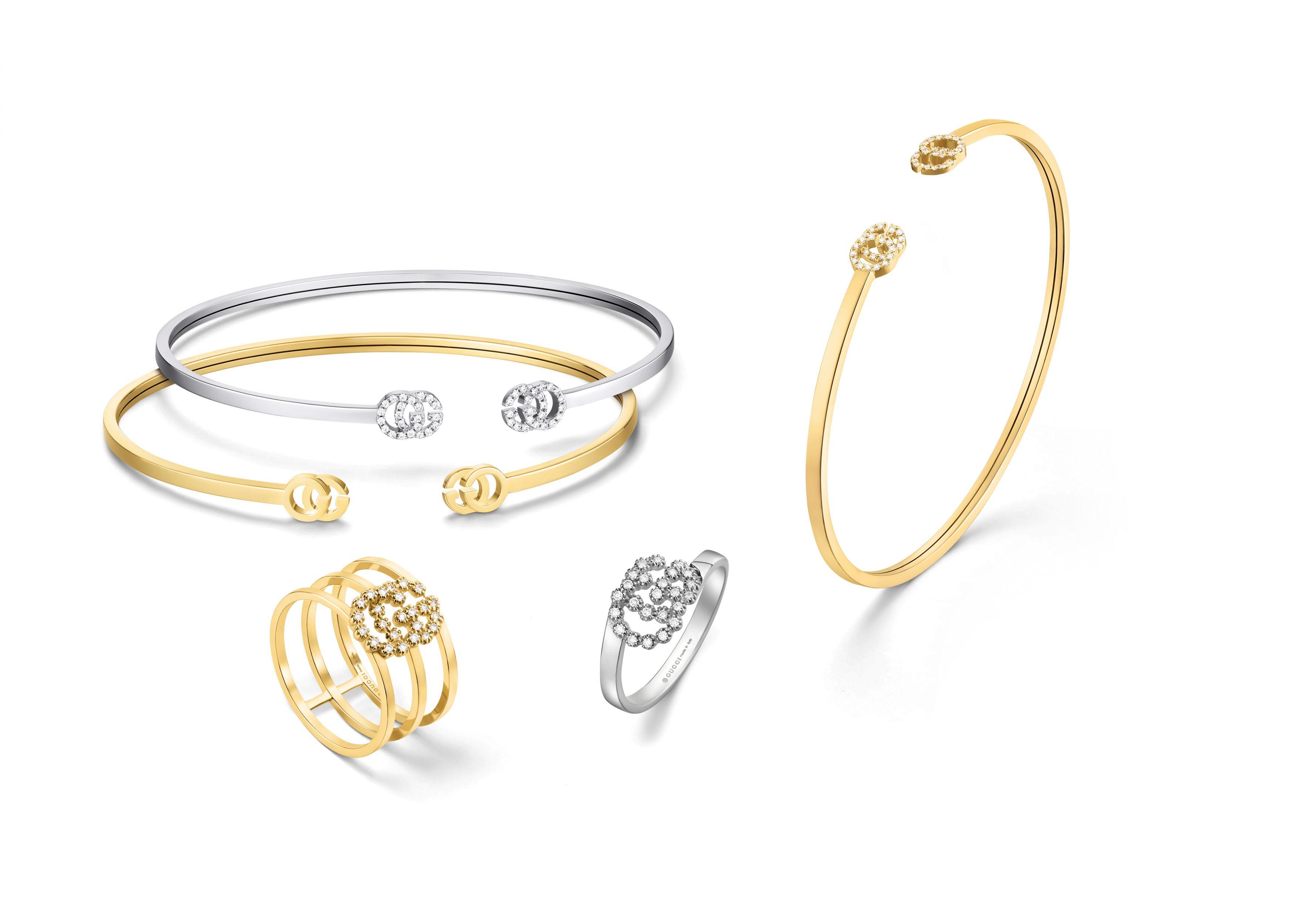 Gucci GG Running bangles and rings