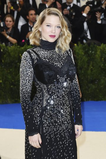 Lea Seydoux wears Chopard at the Metropolitan Museum of Art's annual Costume Institute Gala (Photo by Karwai Tang/WireImage)