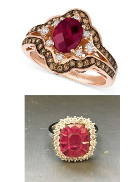 Le Vian ruby rings
