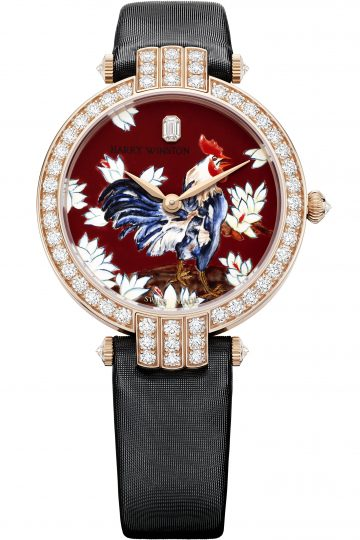 Premier Rooster Automatic watch by Harry Winston