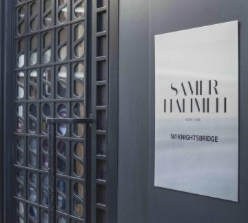 Samer Halimeh Boutique at 161 Knighsbridge