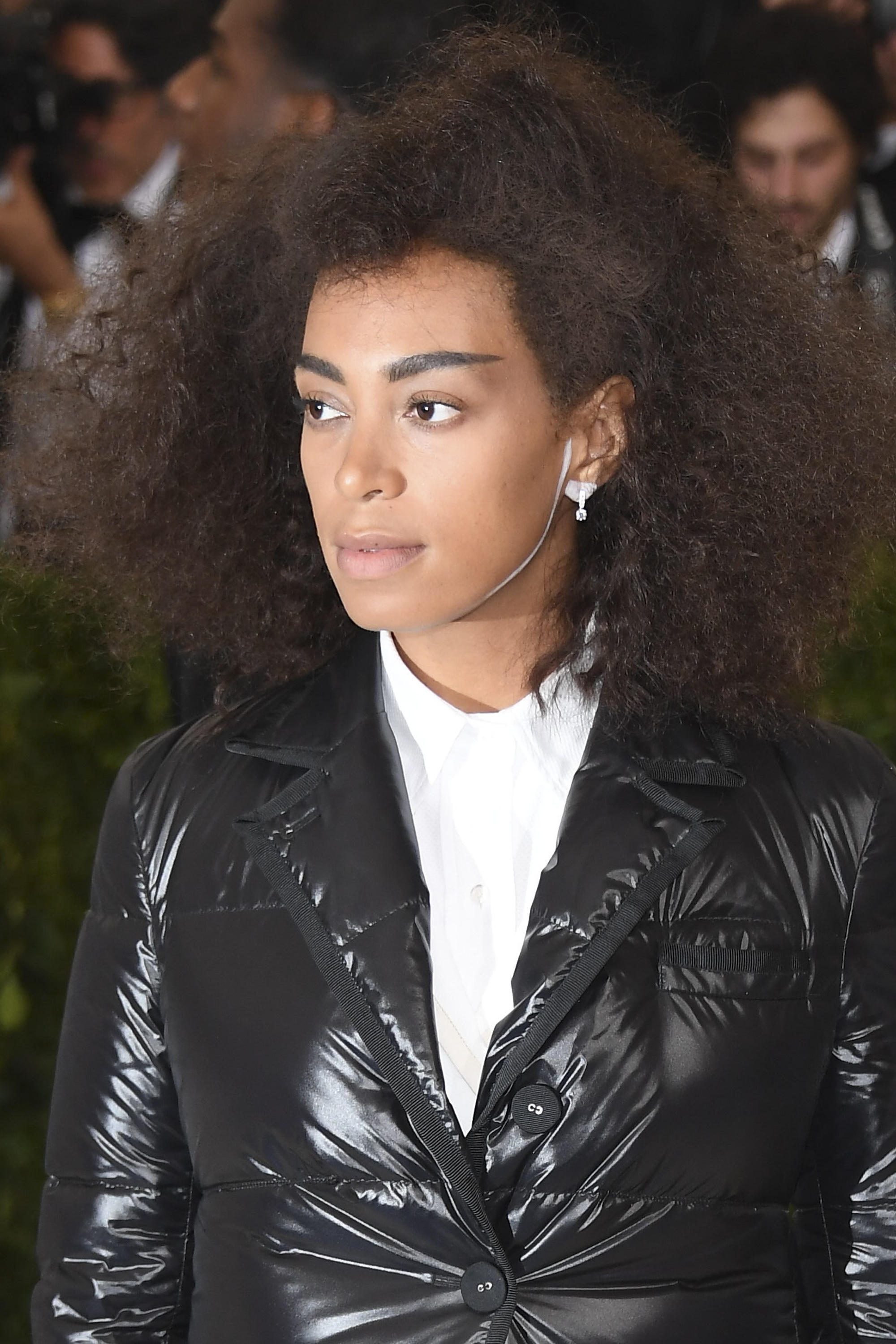 Solange wears Piaget jewellery at the Metropolitan Museum of Art's annual Costume Institute Gala (Photo by Venturelli/WireImage)