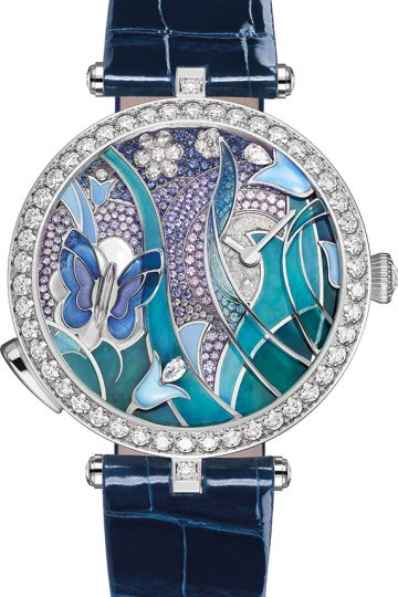 Papillon Lady Arpels Automate watch by Van Cleef Arpels
