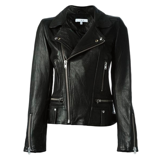 Area leather jacket by IRO