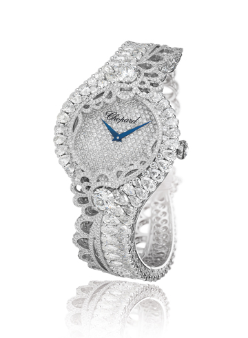 Barbados watch by Rihanna ♥ Chopard