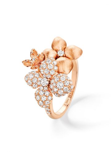 Hortensia ring by Chaumet