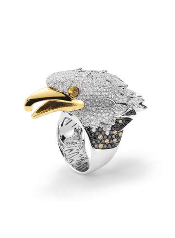 Eagle ring by Roberto Coin