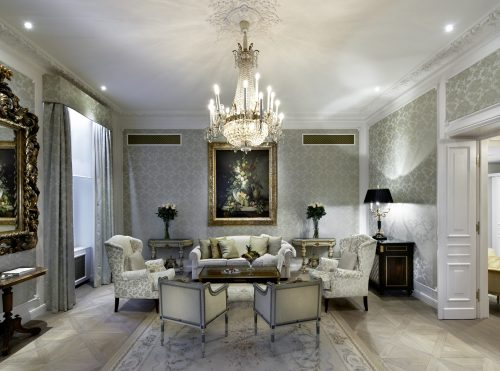 Hotel Sacher_Idomeneo Suite - Living Room II