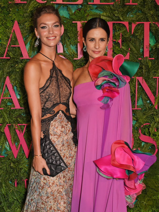 Arizona Muse, Livia Firth, Green Carpet Awards
