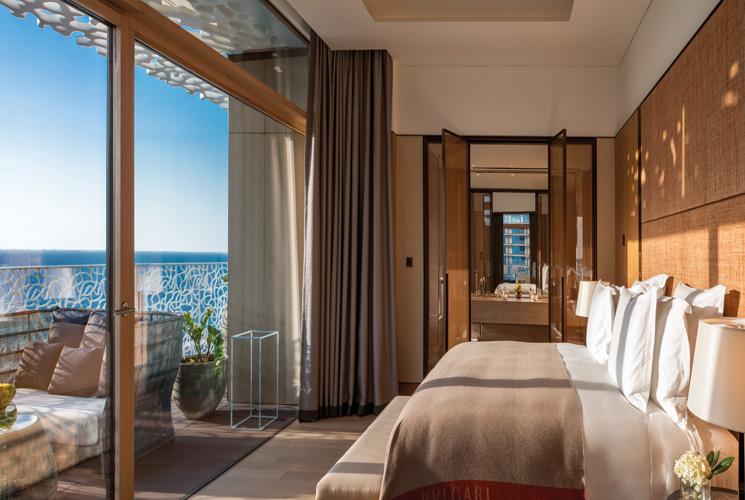 Bulgari Suite Bedroom