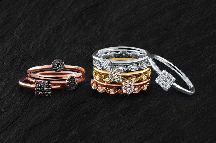 2 Ntinga Geometric collection, modern everyday jewellery
