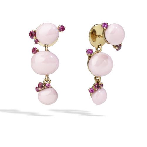 Pomellato_Capri Earrings by Pomellato_PinkCeramicRubies