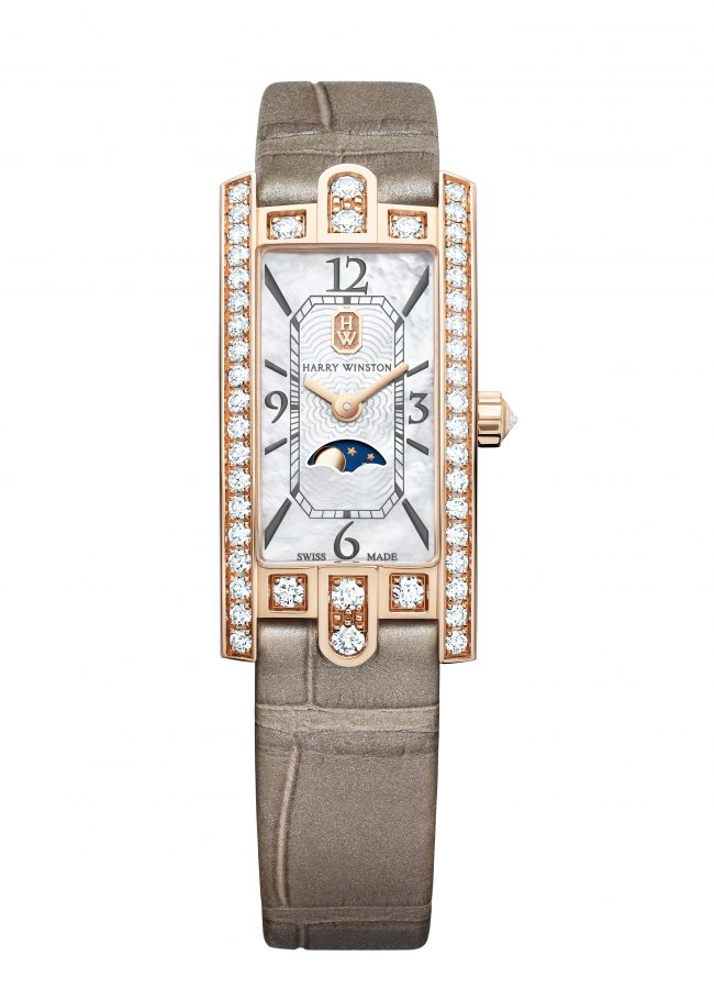 Harry Winston, Avenue C Mini Moon Phase