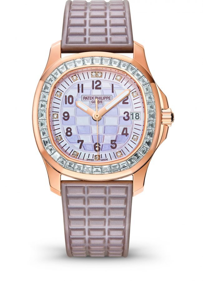 Patek Philippe, Nautulus in  rose gold with diamonds