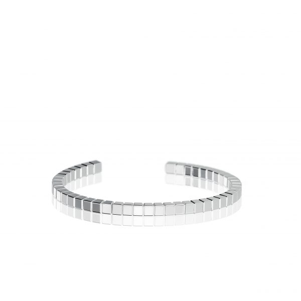 Ice Cube Pure Bracelet in white gold