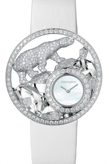 Arctique L'Ours Polaire Watch by Boucheron
