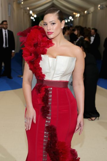 Ashley Graham wears Piaget jewellery at the Metropolitan Museum of Art's annual Costume Institute Gala (Photo by Neilson Barnard/Getty Images)