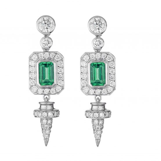 Empress drop earrings by Theo Fennell