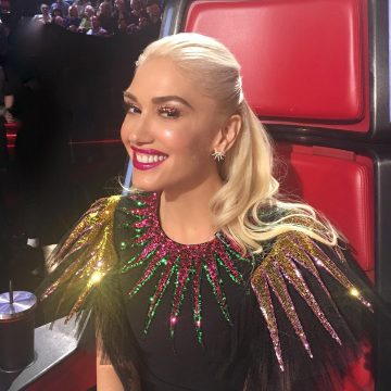 Gwen Stefani wore Doves by Doron Paloma earrings