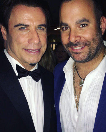 John Travolta and Samer Hamileh