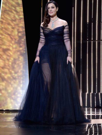 Monica Bellucci wears Cartier