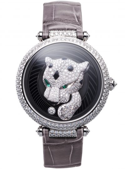 Panthère Joueuse watch by Cartier