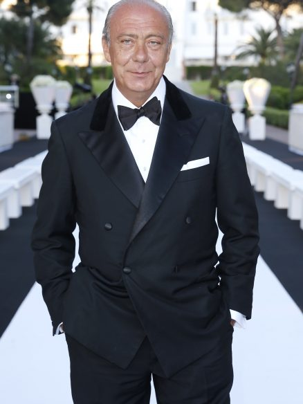 de Grisogono's Fawaz Gruosi at Eden Roc Cocktail Party, Cannes
