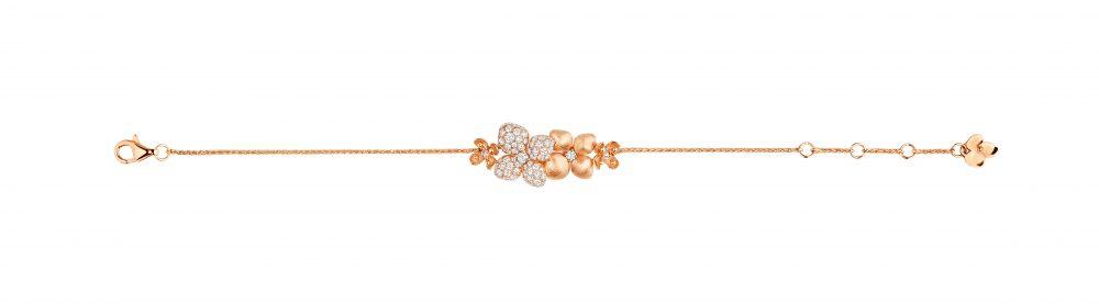 Hortensia bracelet by Chaumet