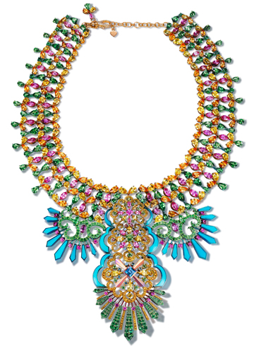 Carnival collar by Rihanna ♥ Chopard
