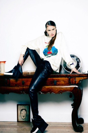Diana Gomez shoot for JFW