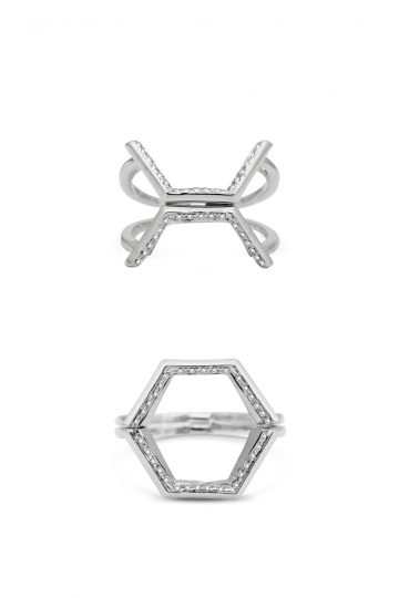 Hexagonum ring by Rachel Boston