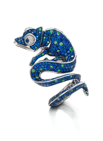 Chameleon ring by Roberto Coin