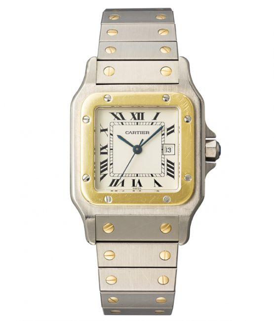 Santos watch by Cartier
