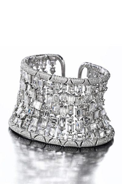 Chopard, white gold and diamonds bracelet