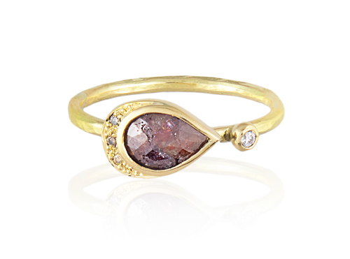 Natalie Perry ethical engagement ring